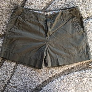 Levi's Army Green Shorts